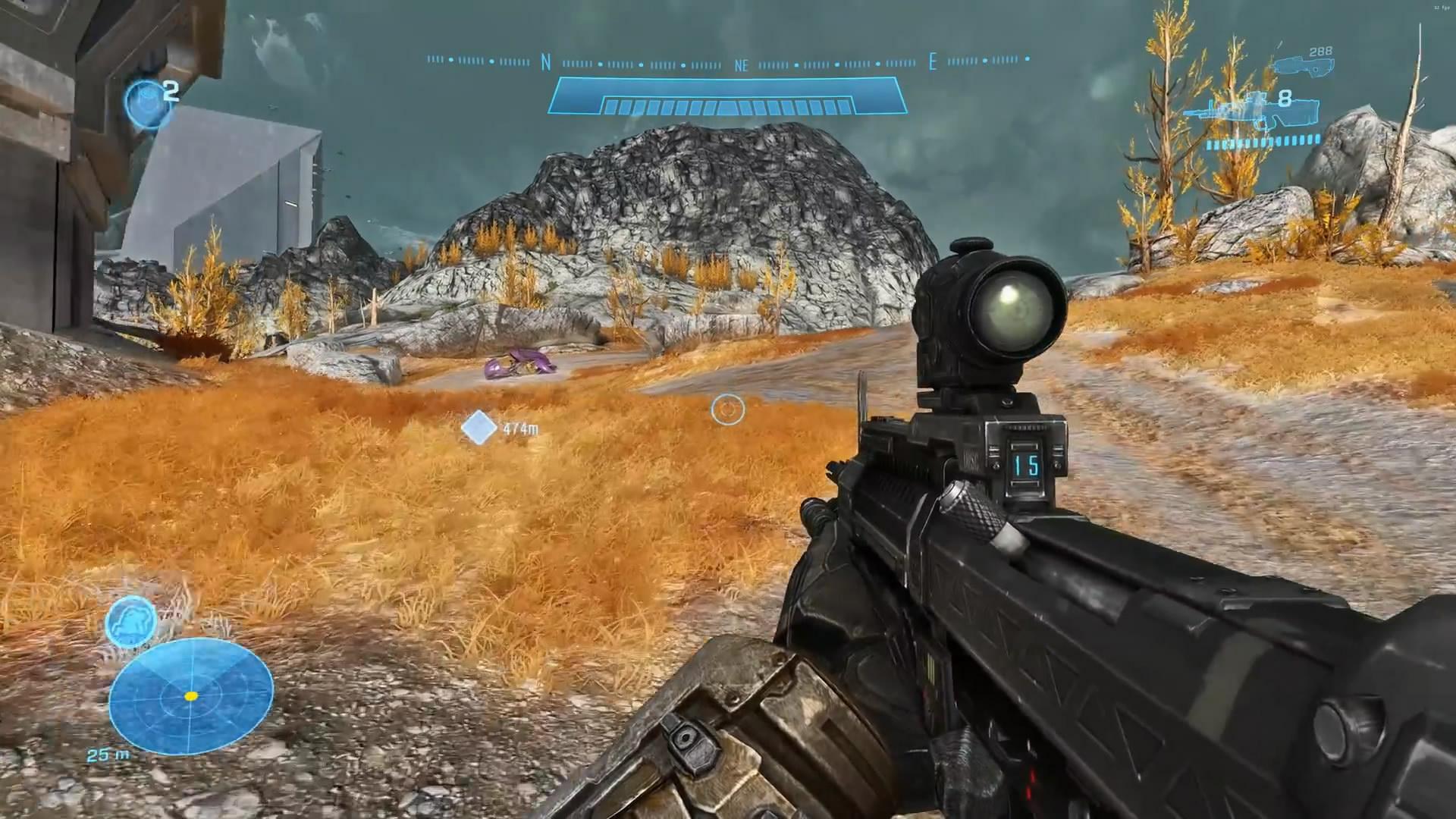 《光环:致远星》光追Mod演示 游戏画面大提升
