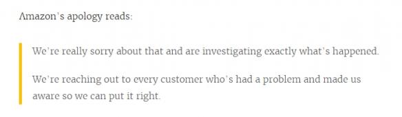 亚马逊买的Switch却变成了套套 官方致歉
