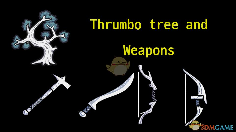 《边缘世界》皮革树和武器v1.0 MOD