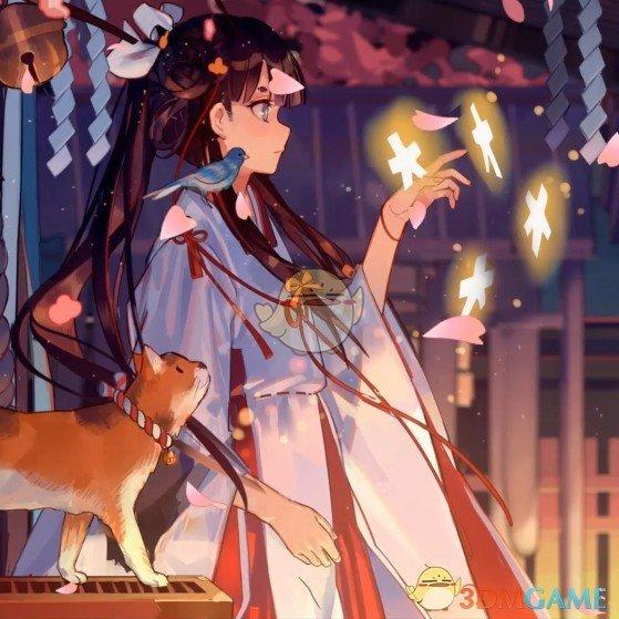 《Wallpaper Engine》菊里千姬和风巫女动态壁纸