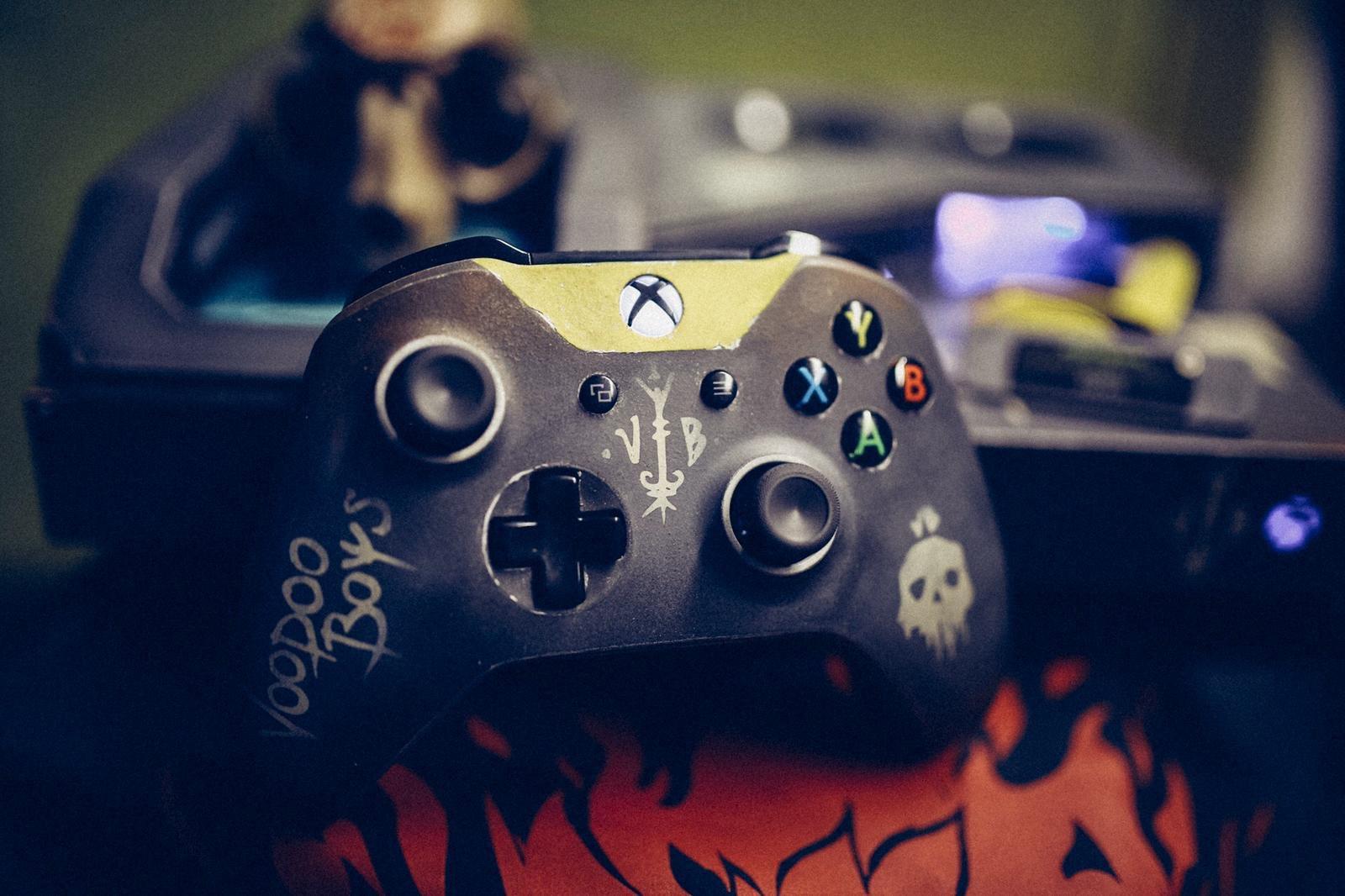 《赛博朋克2077》官方大晒主题定制Xbox 全球限量一台