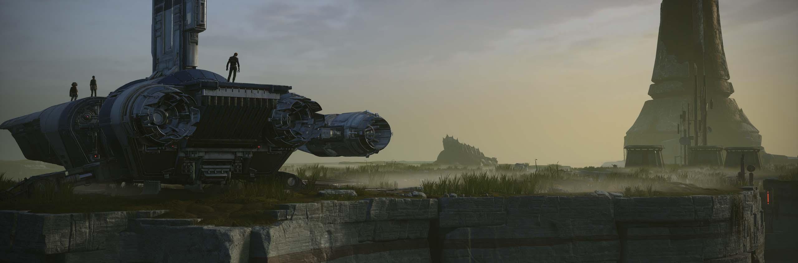 《星球大战绝地:陨落的武士团》惊艳大师级截