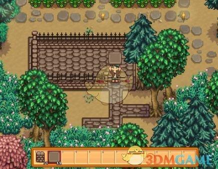 《星露谷物语》石头小路和栅栏美化MOD
