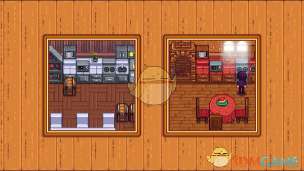 《星露谷物语》厨房家具外观包MOD