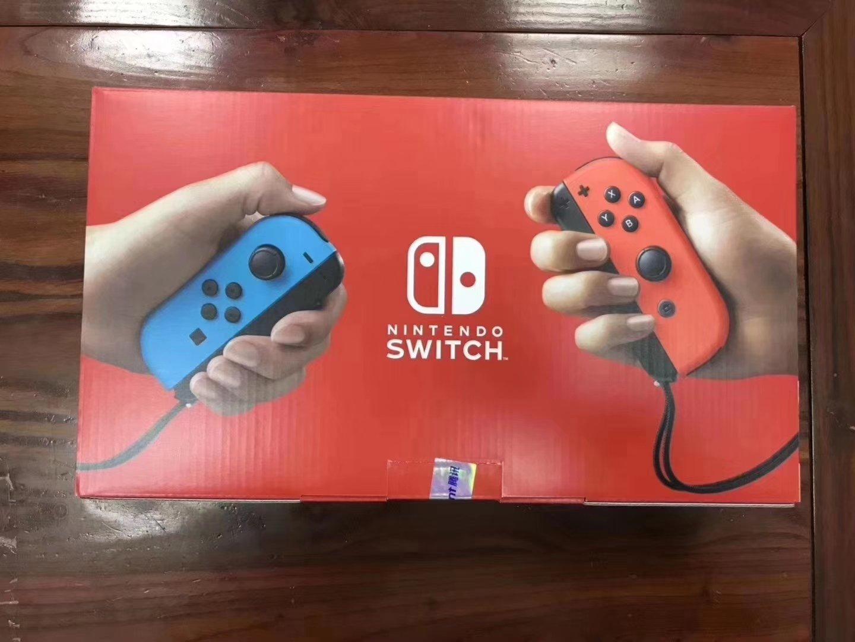 国行版Switch外包装疑似曝光 将于明天正式发售
