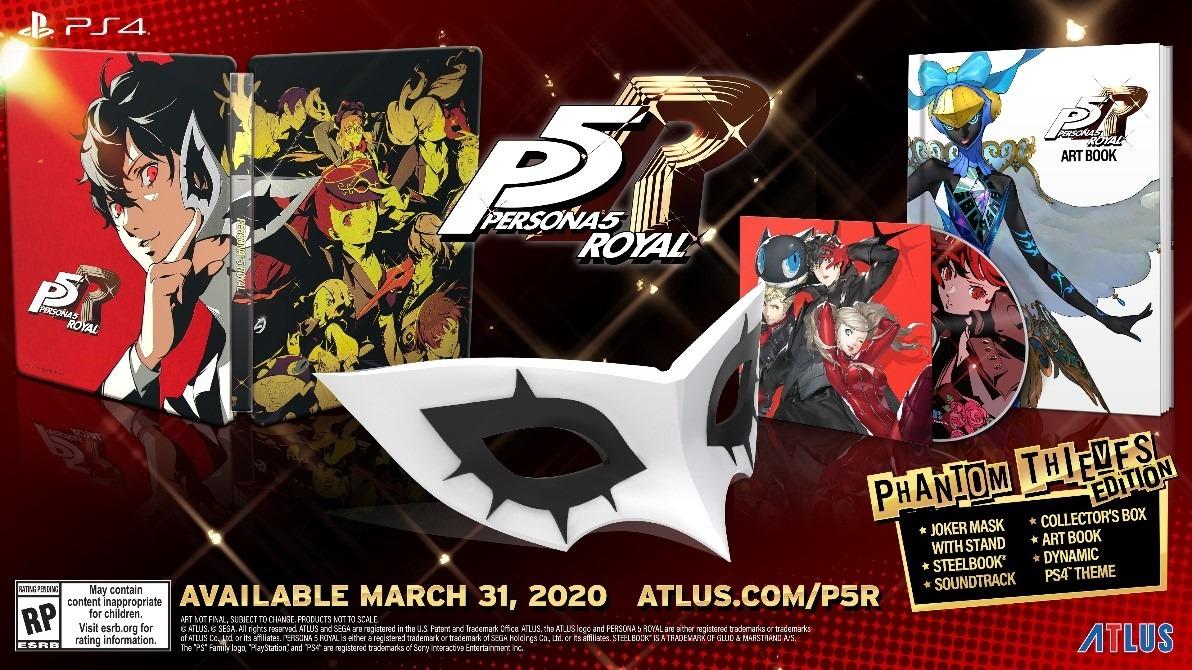 欧美玩家购买P5R可获得原版P5所有DLC内容