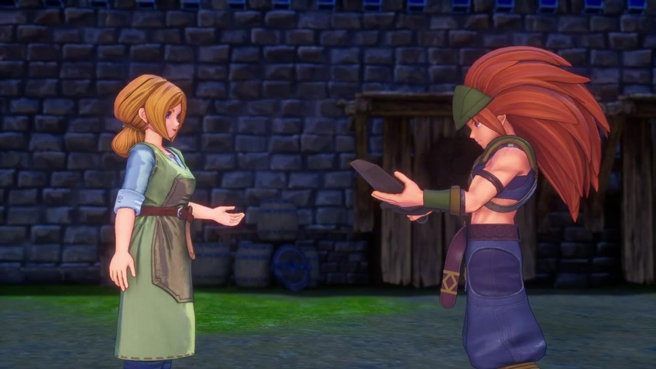 《圣剑传说3:重制版》迪兰/安洁拉搭档新视频公布