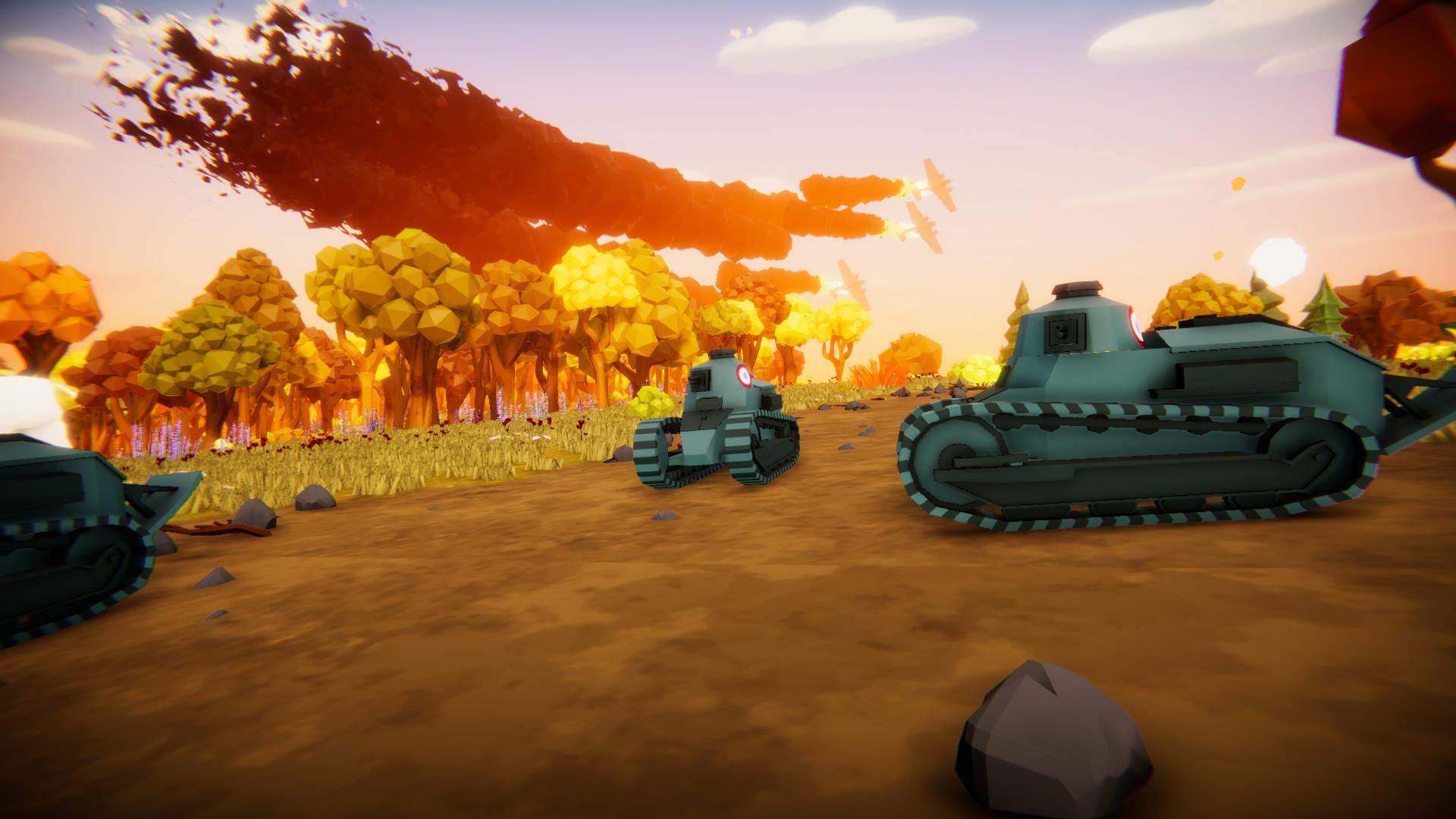 好玩搞笑!《全面坦克模拟器》预告 2020年登陆PC