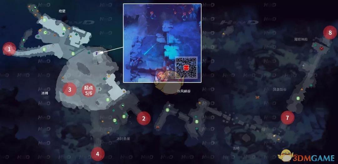 《暗黑血统:创世纪》第四章冰缚洞穴全支线任务位置攻略