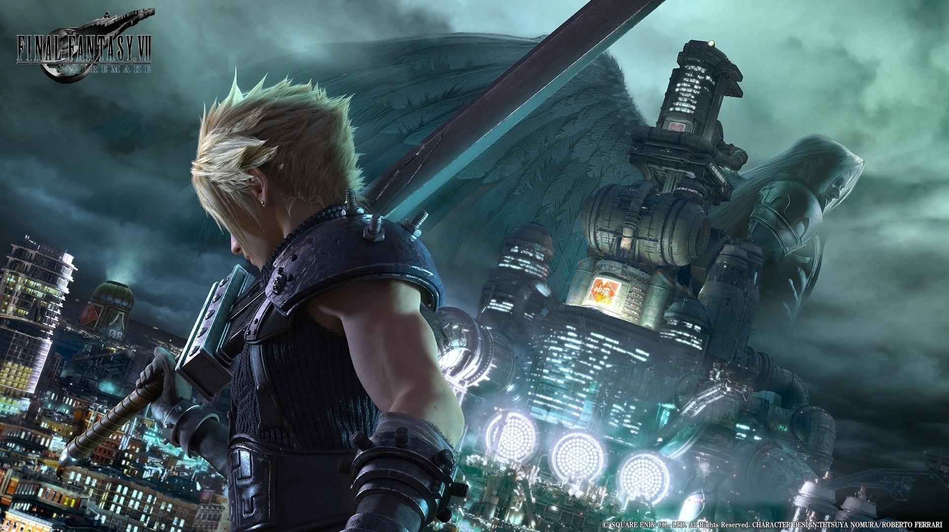 《最终幻想7:重制版》新封面:PS4限时独占一年
