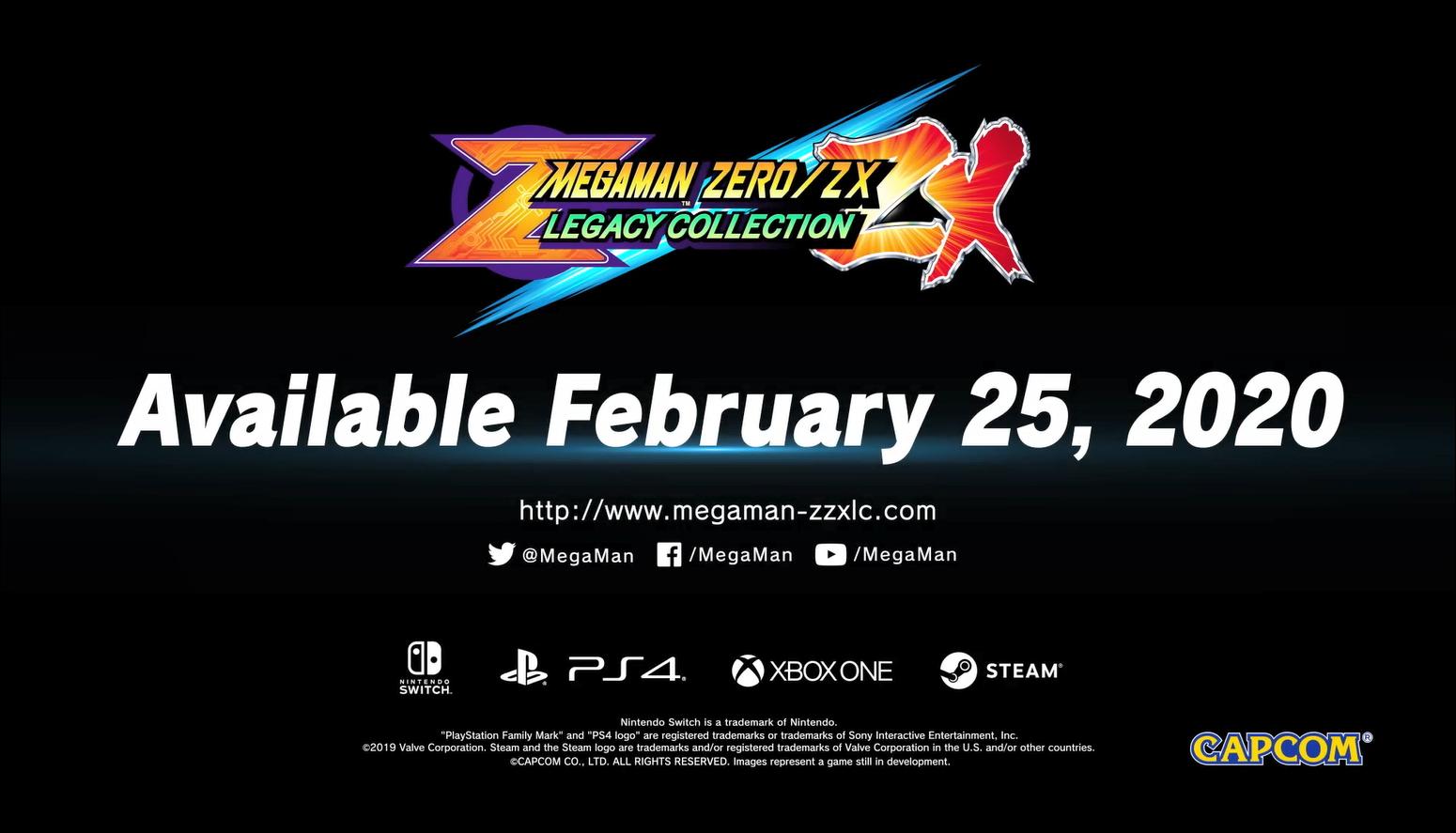《洛克人Zero/ZX遗产合集》预告公布发售日 英雄再度睁眼