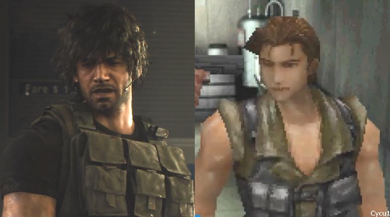 《生化3重制版》和原版画面对比:画面显著提升