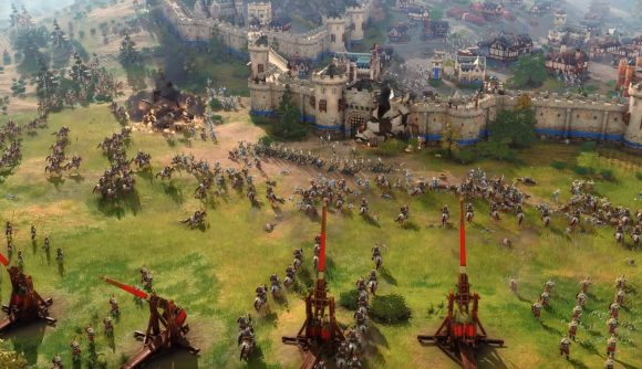 《帝国时代4》可玩文明要比2代少 有动态人为破坏效果