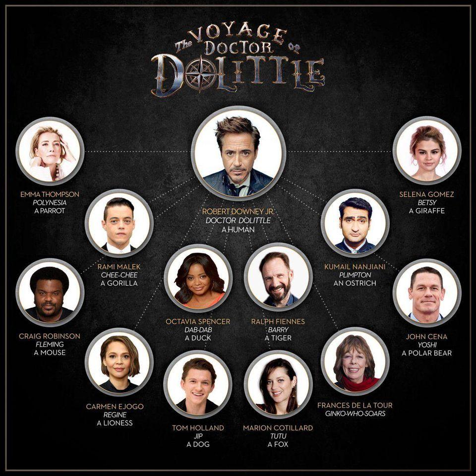 小罗伯特·唐尼主演 《多力特的奇幻冒险》趣味试镜特辑