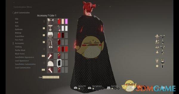 《噬血代码》披风外观包MOD