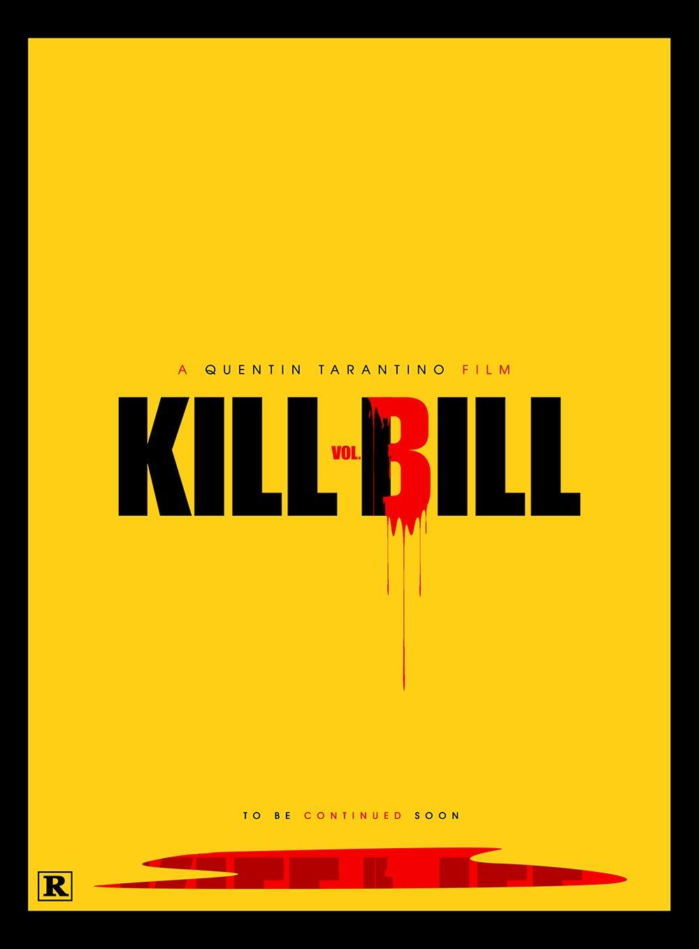 《杀死比尔3》要来?国外大神海报都给提前想好了