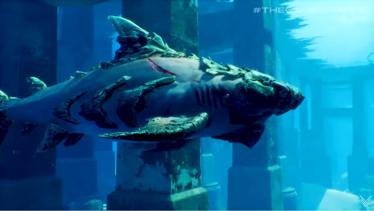 TGA 2019:《食人鲨》新宣传片 发售日公布登录主机