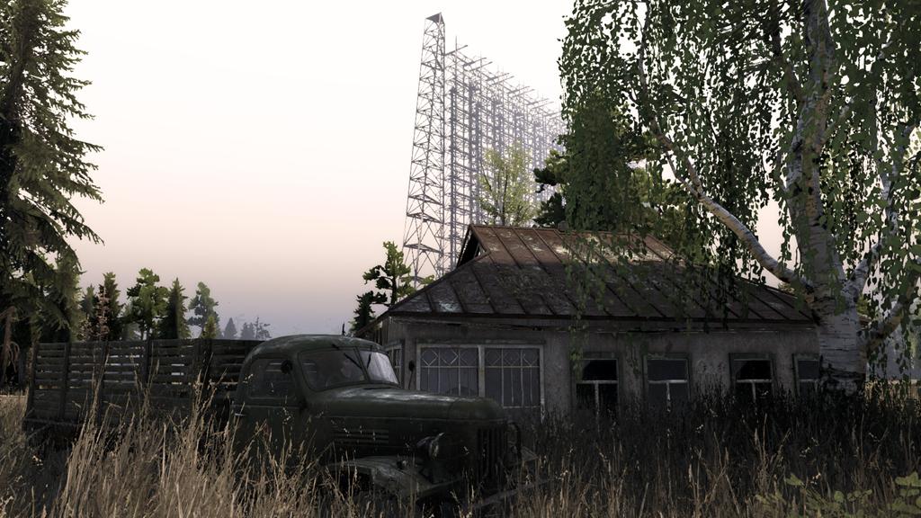 《Spintires》全新DLC:零距离接触切尔诺贝利,探秘封锁多年的死亡禁区