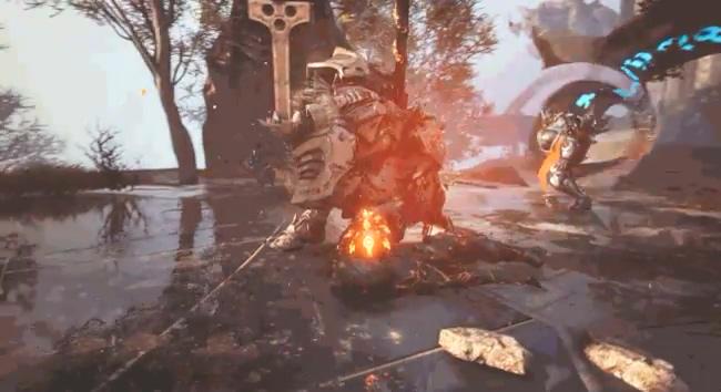 PS5新作《众神陨落》首个演示片段暴光