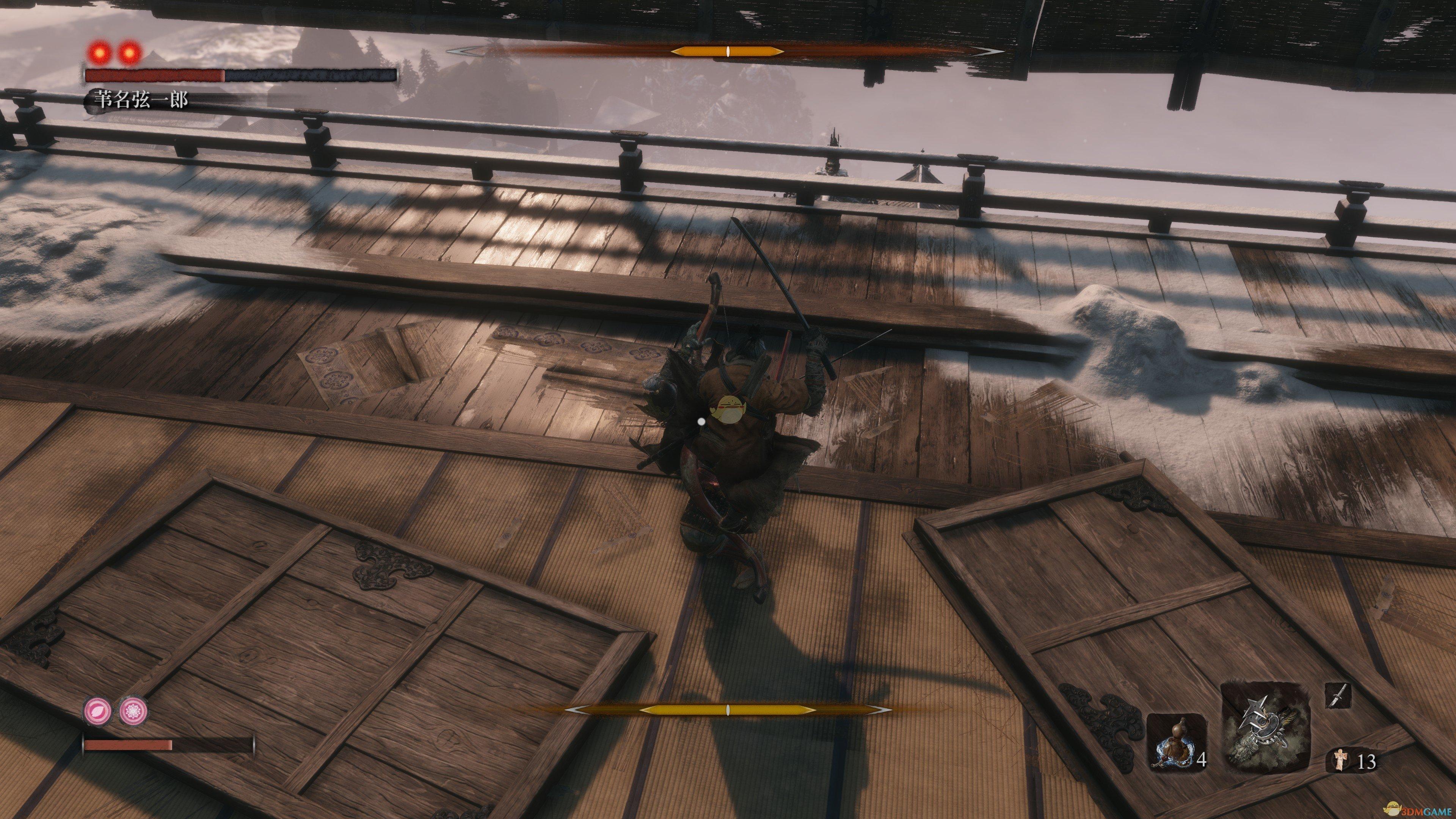 《只狼:影逝二度》苇名弦一郎打法攻略