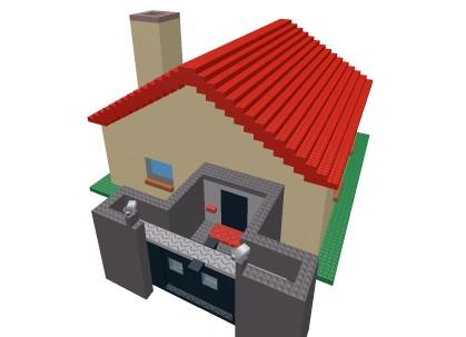 《罗布乐思》加强防御房屋模型