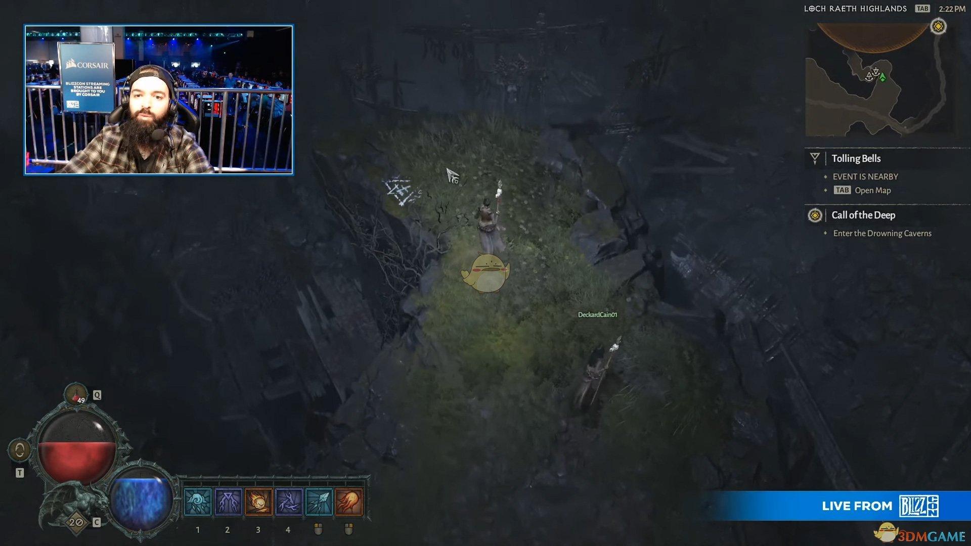 《暗黑破坏神4》演示界面中的细节分析