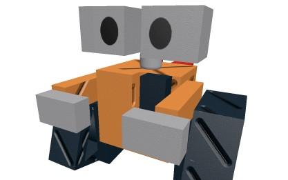 《罗布乐思》机器人瓦力模型