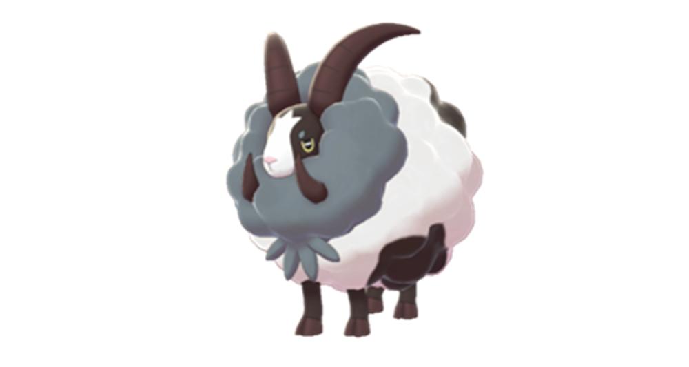 《宝可梦:剑/盾》毛毛角羊单打配招