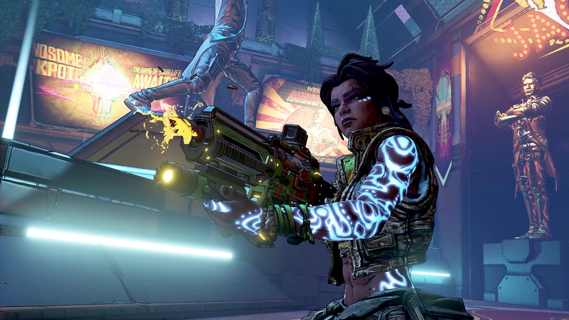 帅杰作抢夺大作战!《无主之地3》首款DLC现已推出