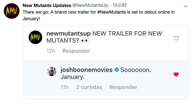 《X战警:新变种人》新预告明年1月发布 4月3日上映