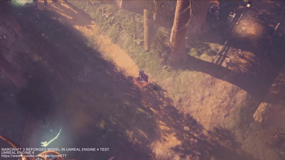 民间大神使用虚幻4重制《魔兽争霸 3》 画面惊人!