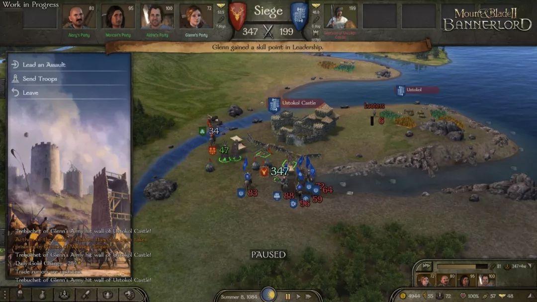 《骑马与砍杀2》新开发日志公布 战役AI更聪明
