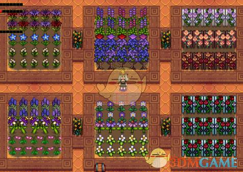 《星露谷物语》新的花卉作物包MOD