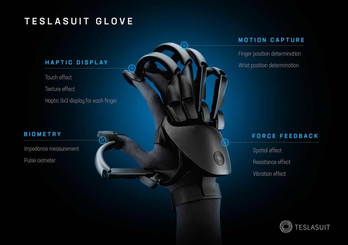 伦敦VR公司推出触觉感应手套 明年一月将首次亮相