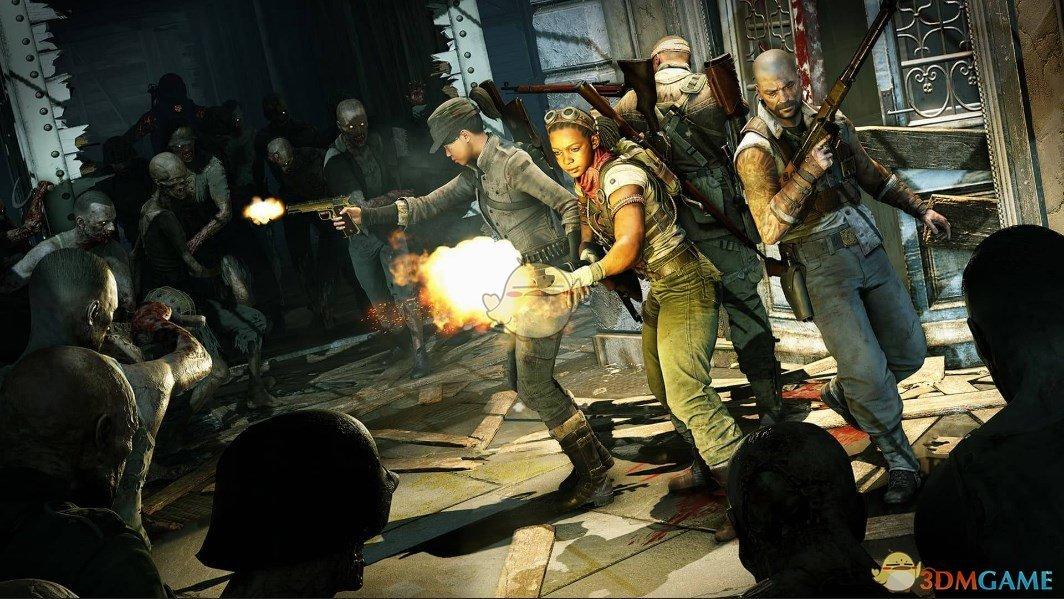 《僵尸部队4:死亡战争》游戏特色玩法介绍