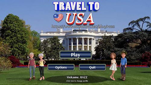 《美国旅行》英文免安装版