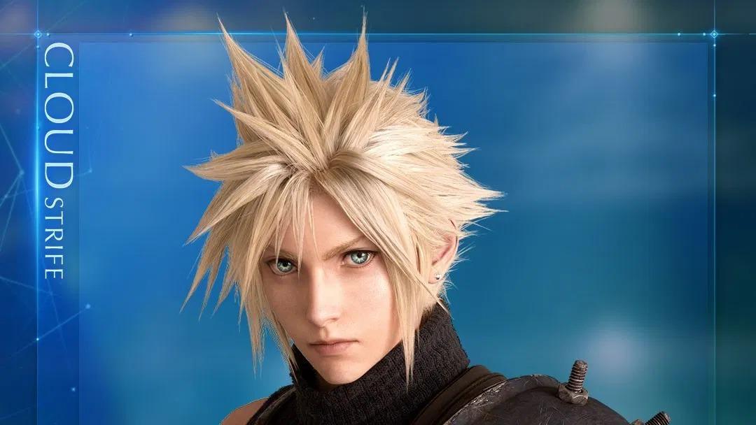 《最终幻想7:重制版》克劳德机车及大剑模型展