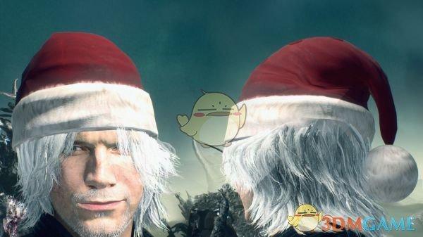 《鬼泣5》浮士德圣诞帽MOD