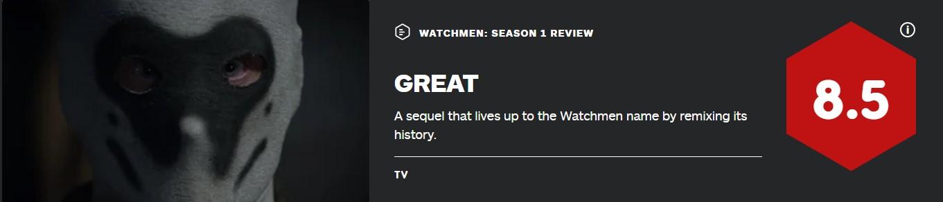《守望者》第一季IGN終評 8.5分:對黑人歷史的親密關注