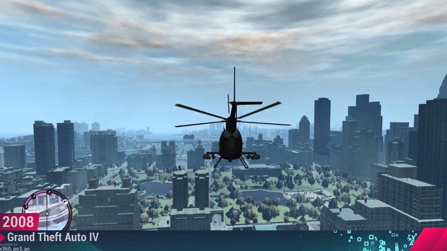 GTA系列城市变化史 哪部作品大家印象最深呢?