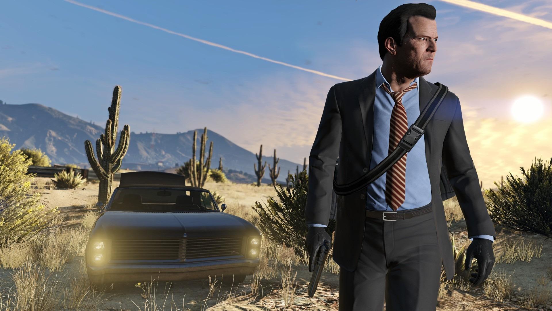 R星《侠盗猎车5》是英国十年来最畅销的游戏