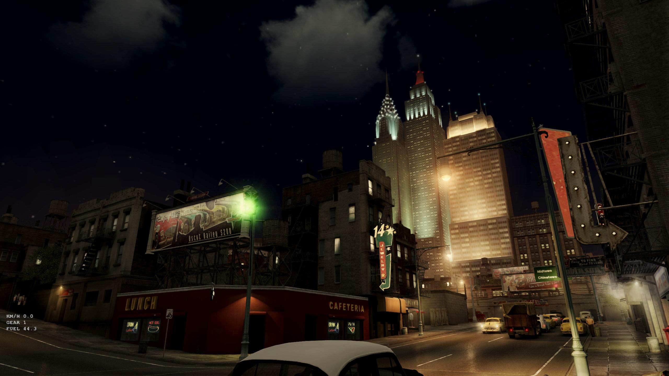 《黑手党2》画面Mod 改进光照和天气效果更惊艳