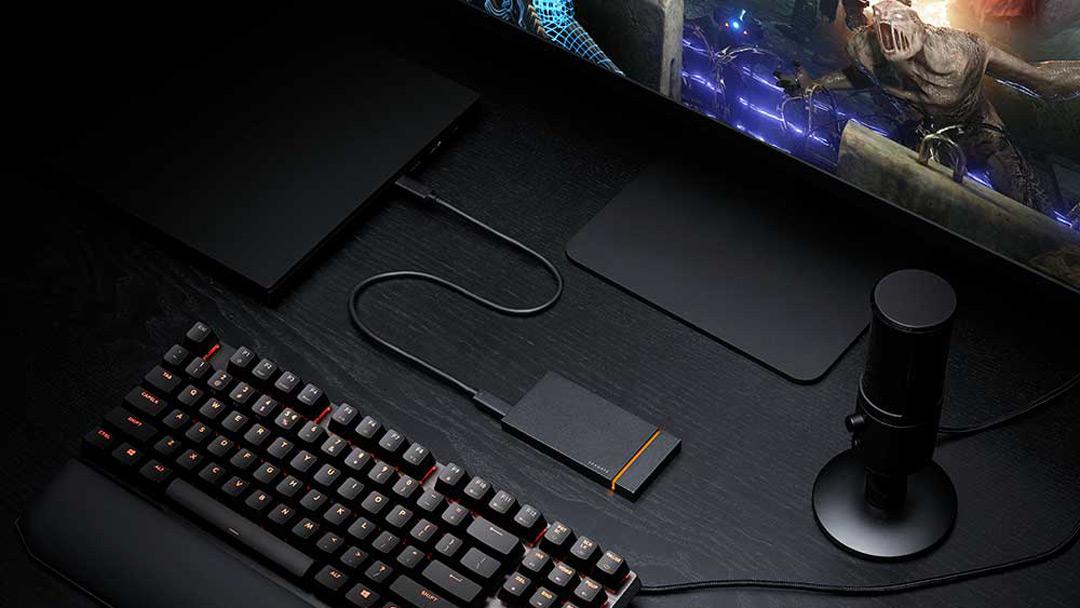 希捷发布两款外置游戏SSD 助力高端玩家随时随地
