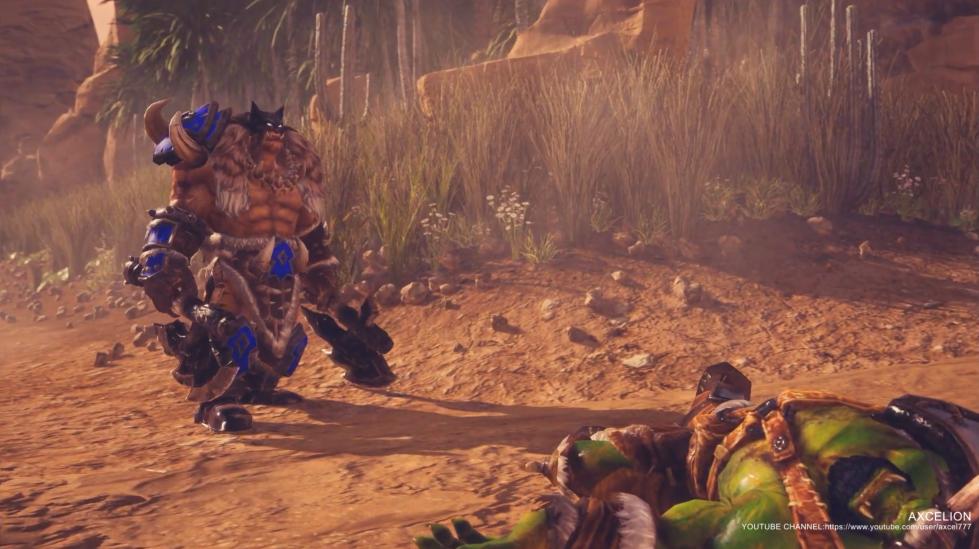 大神虚幻4重制《War3》雷克萨战役 开头部分神还原