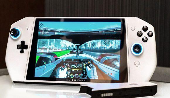 外星人Concept UFO掌上游戏PC使用英特尔10代CPU 分辨