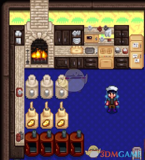 《星露谷物语》厨房家具风格包MOD