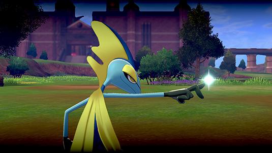 《宝可梦:剑/盾》千面避役超极巨化的样子一览