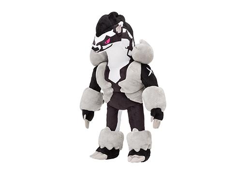 堵拦熊/双弹瓦斯毛绒玩具推出 加勒尔形态特别版