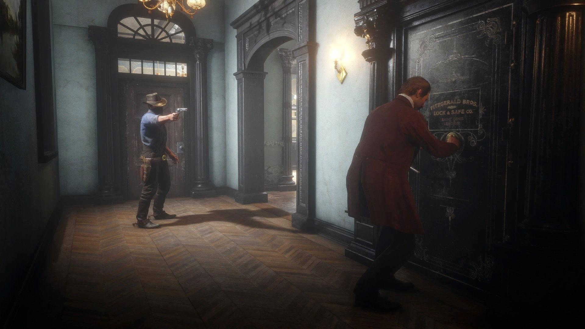 《荒野大镖客2》抢银行Mod 让你变成真正的西部大盗