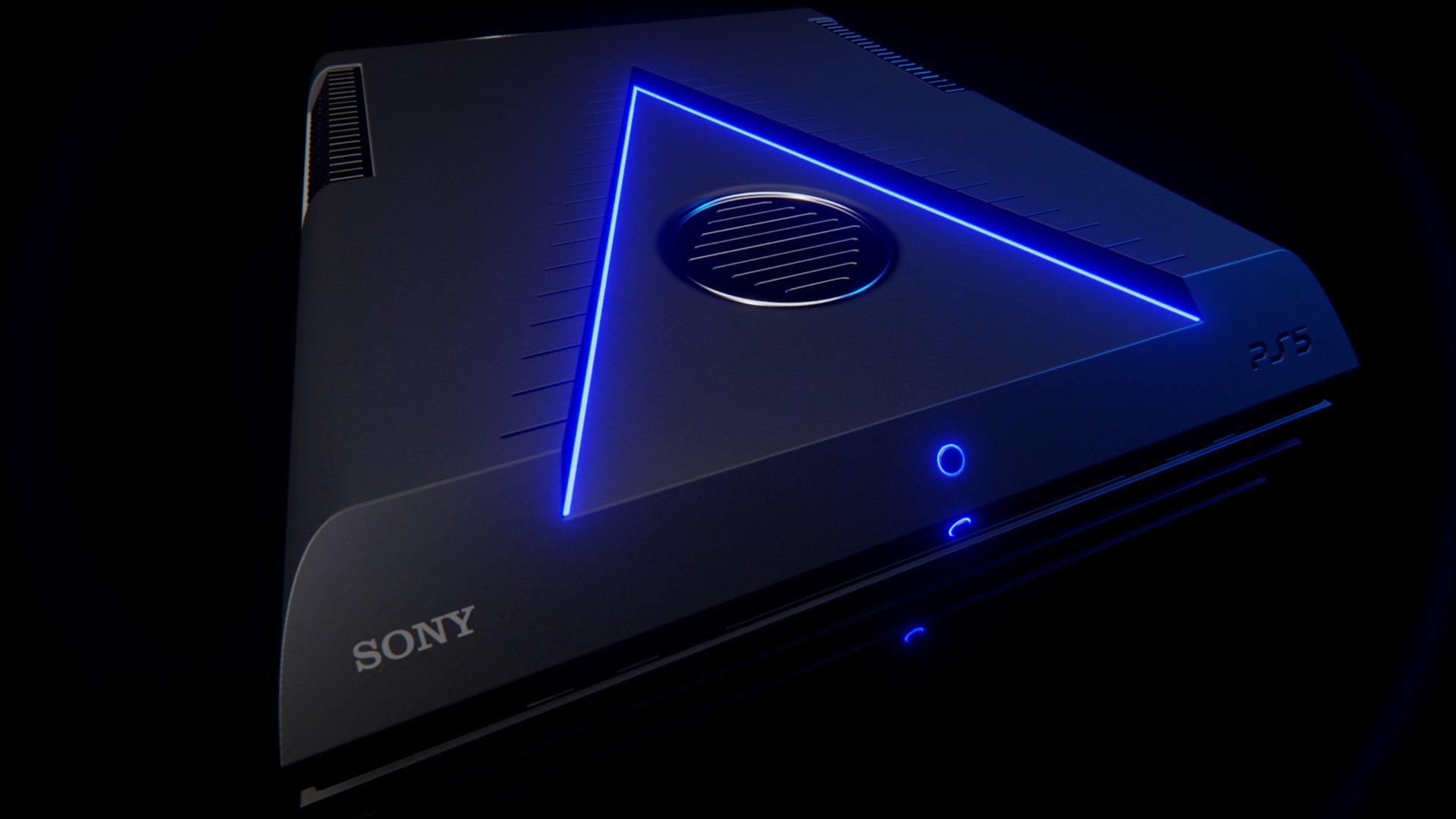 很有特色!国外玩家自己设计PS5主机概念造型